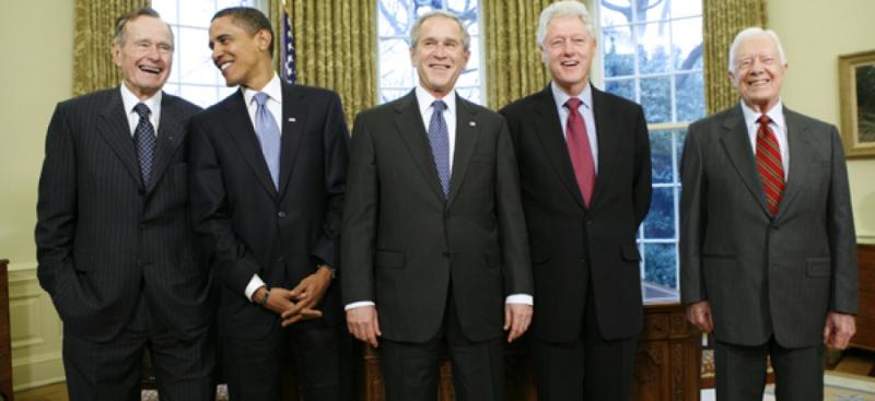 Anciens présidents us en vie