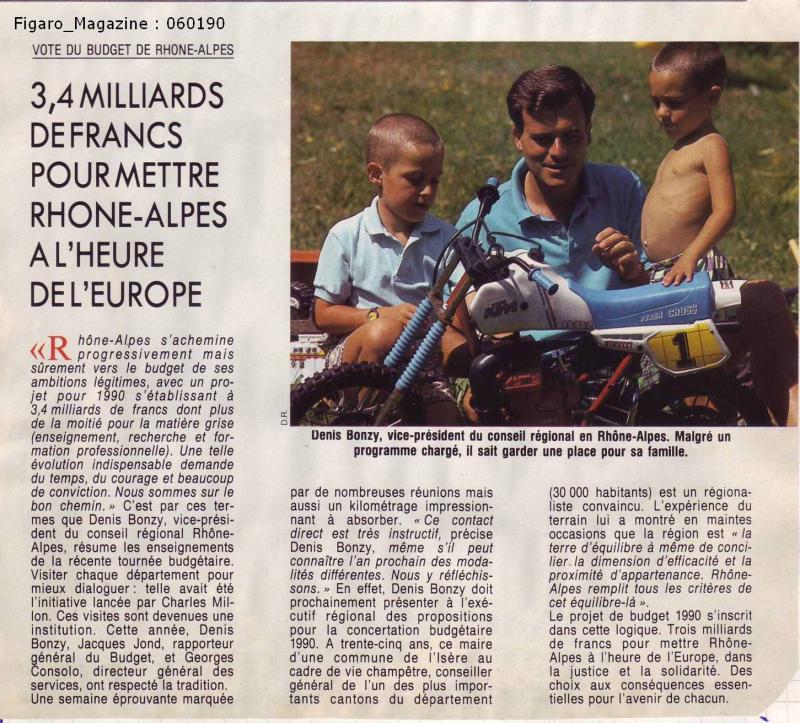 Région RA janvier 1990
