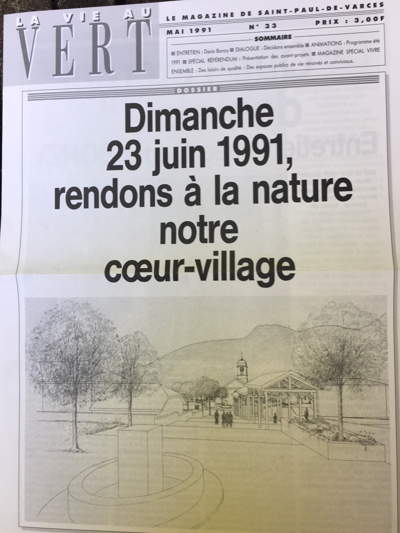SPV magazine municipal referendum juin 1991