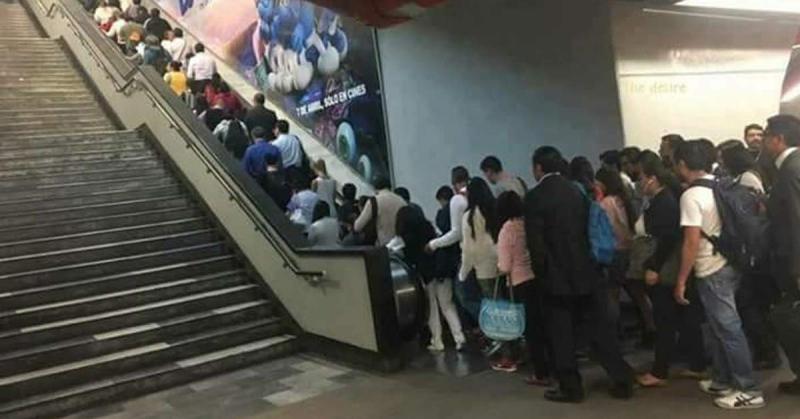 Metro panne