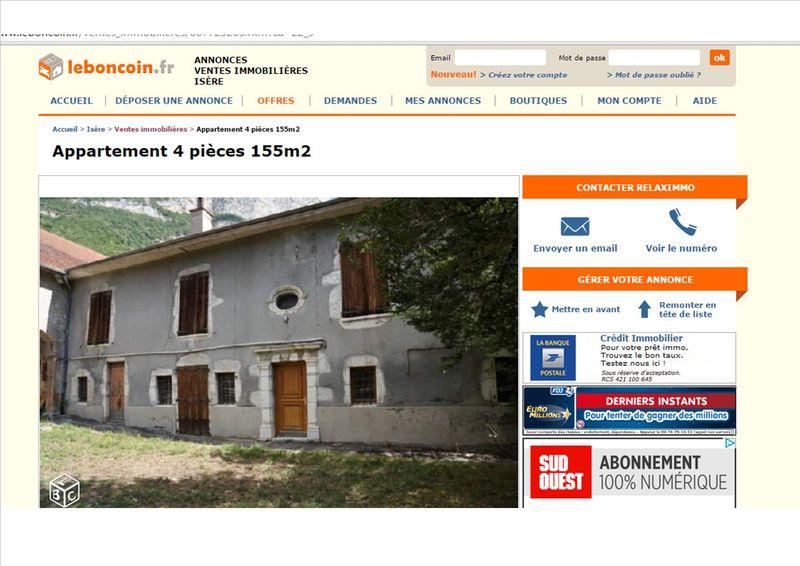 Maison Rochas Le Bon Coin